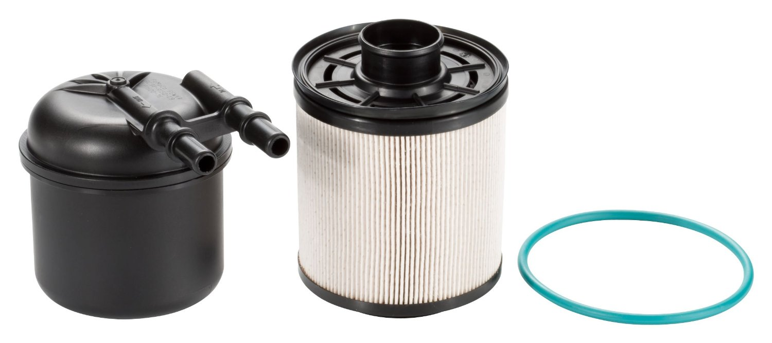 ford powerstroke 6 7l fuel filter change how to